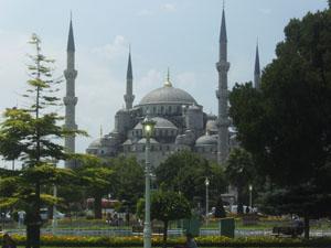 La siempre fotogénica Mezquita Azul
