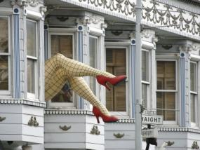 La famosísima Haight street de San Francisco no una calle cualquiera