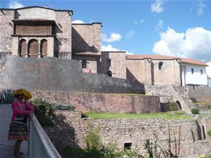 El convento de Santo Domingo construido sobre el templo de Qoricancha