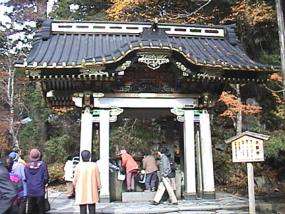 Los turistas son una constante diaria en Nikko