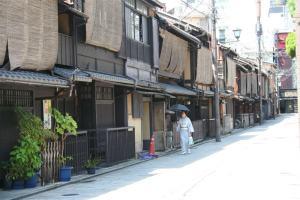 Una de las calles más propias de Takayama