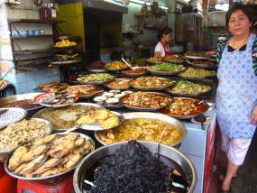 Un clásico restaurante en Charoen Krung
