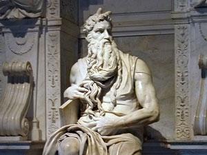 El conocido Moisés de Miguel Ángel
