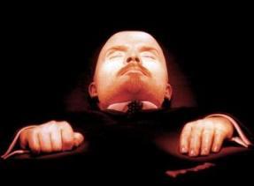 Impresionante primer plano de la momia de Lenin