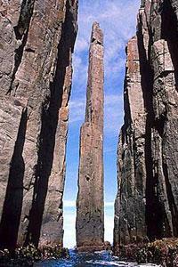 El Totem Pole deslumbra a simple vista