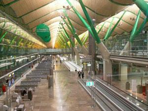 Una vista de la Terminal 4 del aeropuerto de Barajas