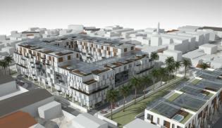 Una imagen de proyecto de la ciudad argelina sostenible