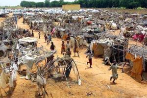 Mucha población sudanesa vive bajo la penuria