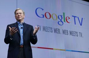 Eric Schmidt, consejero delegado de Google, en un acto