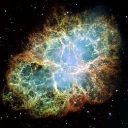 Una nebulosa captada por el Hubble