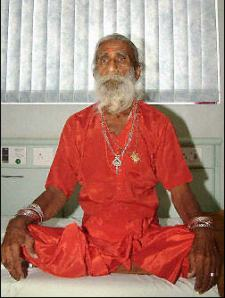 Prahlad Jani, en la imagen