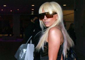 La explosiva Lady Gaga en una pose muy suya