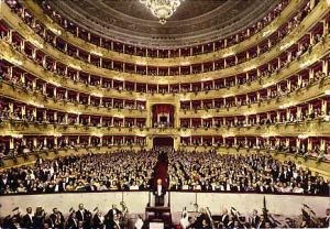 Impresionante imagen del interior del teatro