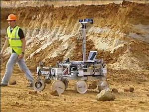 Un 'Rover' realiza unas pruebas en un entorno