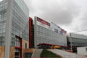 Así luce la fachada principal del edificio