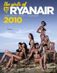 Portada del último calendario de Ryanair