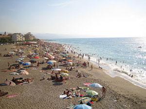 La playa de Ostia dejará de ser gratis