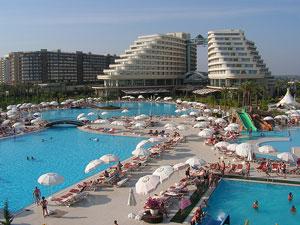 El Miracle Hotel de Antalya en el Mediterráneo Turco