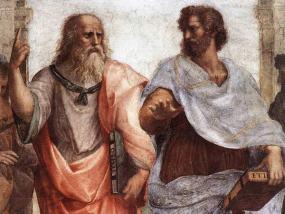 Platón, representado en el famoso cuadro de Rafael