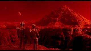 Un fotograma de Desafío Total, que tiene lugar en Marte