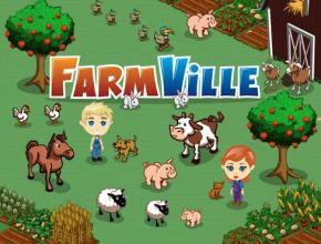 Un colorido pantallazo del juego Farmville