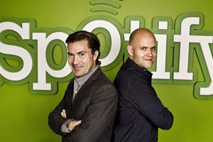 La cúpula de Spotify en pose triunfadora