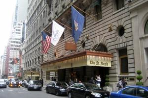 Fachada principal del mítico hotel Starwood en Nueva York