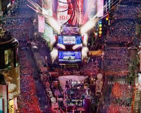 El fin de año en la Times Square de Nueva York es único