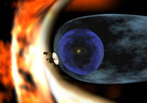 Una recreación del encuentro entre el Sistema Solar y la Nube