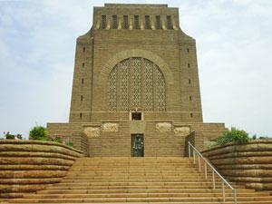 El monumento en honor a lo Voortrekker en Pretoria