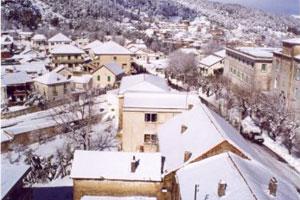 Las estampas nevadas tunecinas son arrebatadoras