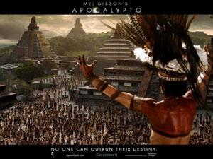 El cartel de la película de Apocalypto