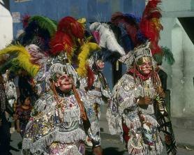 Un colorido pasacalle muy celebrado en Guatemala