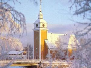 La iglesia St. Birgitta, posiblemente la más hermosa de Ostrobothnia