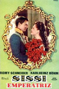 El cartel de la película Sissi Emperatriz