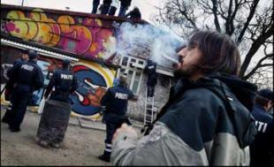 El ambiente en Christiania no tiene parangón con nada