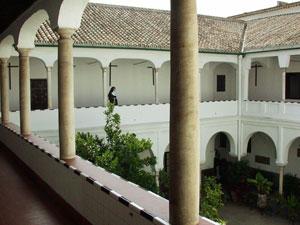 El claustro del convento de Santa María de Jesús