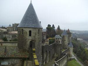 Un buena panorámica desde el Castillo de los Trencavel