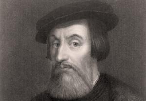 Un retrato del conquistador español Hernán Cortés