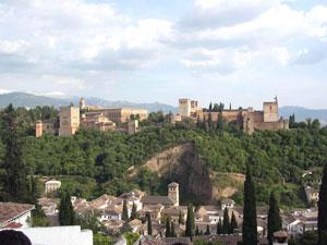 La Alhambra vista desde el mirador de San Nicolás