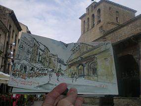 Un precioso cuaderno de viaje en el Pirineo aragonés