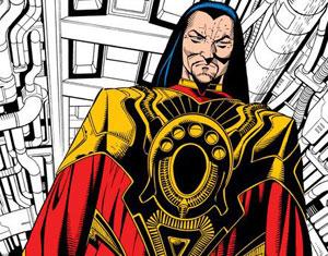 La versión villana del Mandarín en los cómics